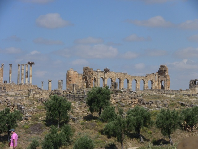 Part of the runis of Volubilis