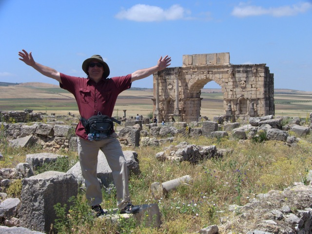 Andy at Volubilis
