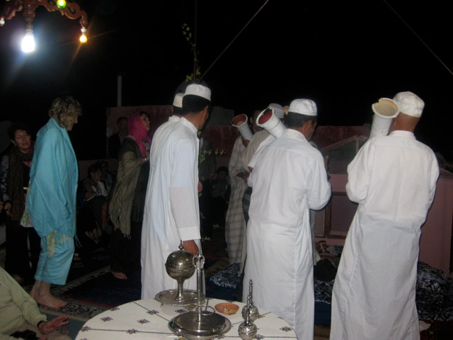Our night with the Sufi at Moulay Idriss