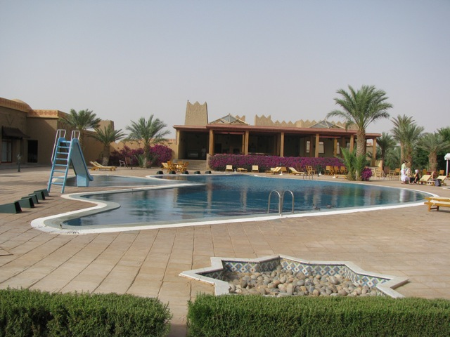 The pool at the hotel Belere