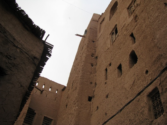Part of the old Jewish section of Tinghir