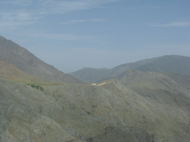 The Tizi-n-Tichka Pass, high in the Atlas Mountains
