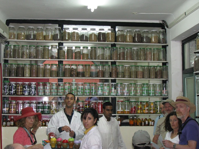 A pharmacy in Marrakesh