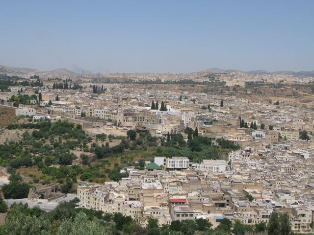 The beautiful city of Fes