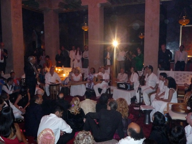 The Yuval Ron Ensemble performing in Marrakesh