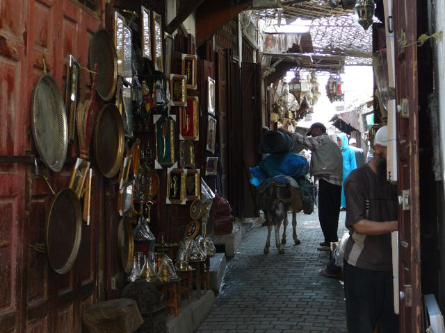 The medina in Fes