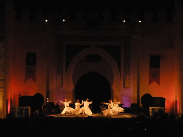 The Whirling Dervishes at the Fes Festival