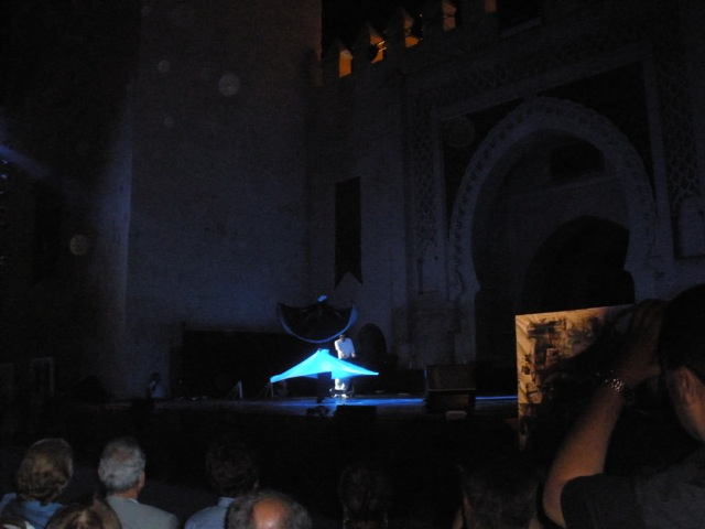 "The second half of the ""Whirling Dervishes"" concert"